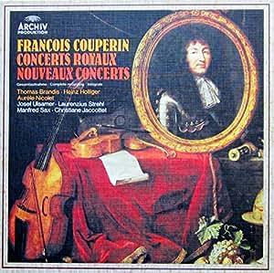 Couperin Concerts Royaux / Nouveaux Concerts (Gesamtaufnahme) [Vinyl Schallplatten] [4 LP Box-Set]