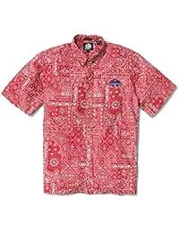 Reyn Spooner Men s Boston Red Sox MLB Classic Fit Hawaiian Shirt 9482ccaac