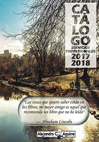 Descargar Libro Servicios profesionales 2017-2018 de Alejandro C. Aguirre
