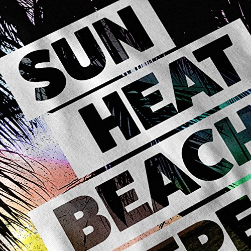 Sommer Hawaii Sonne Urlaub Sommer Zeit Damen S-2XL Muskelshirt   Wellcoda Grau