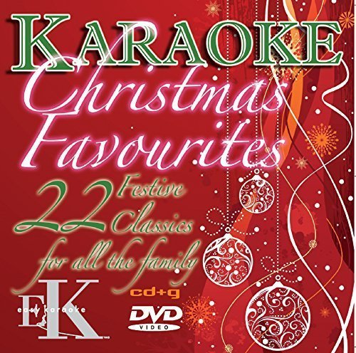 Christmas favourites karaoke CDG and DVD disc by Easy Karaoke - Includes 22 festive classics by Wizard; John Lennon; Mariah Carey and many more! by Various - Karaoke-dvd-na