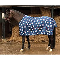 NEW Star Design Lightweight Waterproof Turnout Rug for Horse, Pony or Foal 3'6'' to 7'0'' (6'3'')