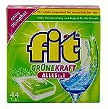 Fit - Grüne Kraft Alles in 1 Geschirrspültabs - 44St