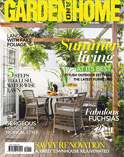 GARDEN AND HOME: STYLISH OUTDOOR SETTINGS THE LATEST FURNITURE (English Edition)