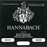 Hannabach 800 MT Concert - Double D - Medium Tension - Noir
