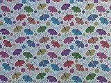 Prestige Bunte Schmetterlinge/Butterfly Print Poly