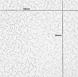 Armstrong cortega flach Deckenleuchte Fliesen Board 600x 600mm Rand 24mm Raster UK