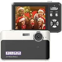 Digital Camera 24MP Camera 2.4 Inch TFT LCD Digital Camera Mini Video Camera Point and…
