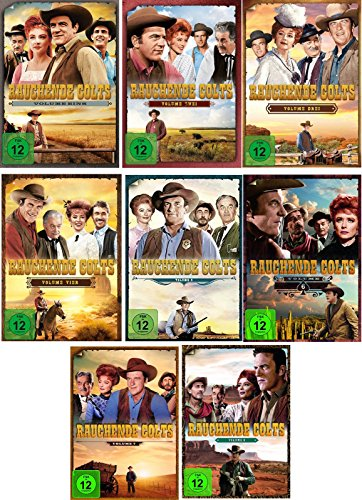 Rauchende Colts Volume 1-5 (33 DVDs)