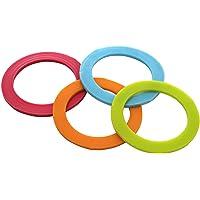 Eddingtons Lot de 12 mini joints colorés en silicone