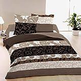 Questa biancheria da letto è disponibile nelle seguenti varianti: 1 piazza, singolo - sacco copripiumino (155 x 200 cm) + 1 federa (50 x 80 cm).  1 piazza e mezza - sacco copripiumino (200 x 200 cm) + 2 federe (50 x 80 cm). 2 piazze, m...