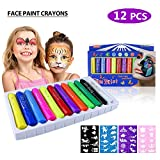 Best Los kits faciales - Philonext Face Paint Crayons, 12 colores Face Painting Review