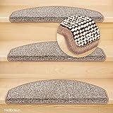 Kettelservice-Metzker Stufenmatten Conti Halbrund Hellbraun 28 Stück