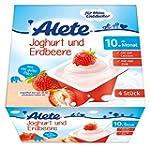 Alete Joghurt und Erdbeere, 6er Pack...