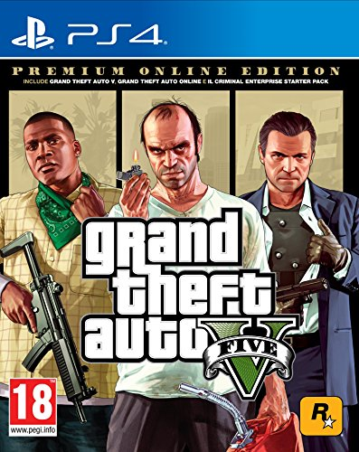Grand Theft Auto V Premium Online Edition - Special Limited - PlayStation 4