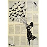 Maxi Poster Loui Jover Butterflying