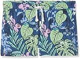 s.Oliver Girl's 66.805.74.5914 Shorts, (Dark Blue AOP 57B4), 134 cm