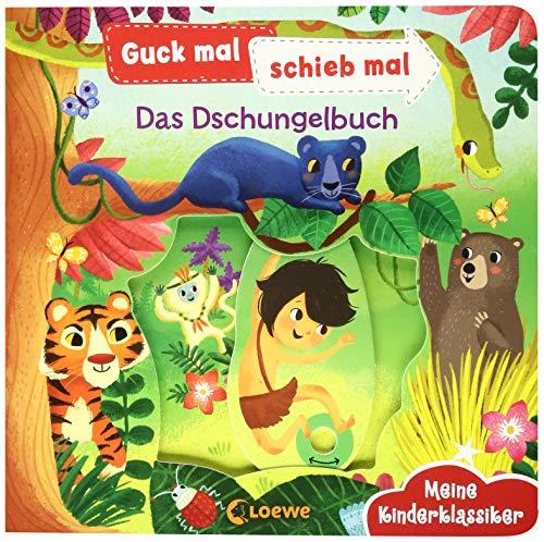 Guck mal, schieb mal! Meine Kinderklassiker - Das Dschungelbuch: Pappbilderbuch ab 2 Jahre