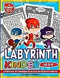 Labyrinth Kinder ab 6-8: Labyrinth Spiel zur Verbesserung der mentalen und geschichten Fähigkeiten (Labyrinth Rätsel für Kinder, Band 4) - Patrick N. Peerson