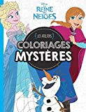 Coloriages mystères La Reine des Neiges