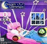 Kinder Gästebett-Dream Glimmers div.Farben, Farbe:pink;Motiv:Mädchen