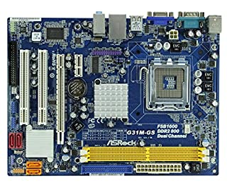 ASRock G31M-GS R2.0 - Placa base Intel (zócalo LGA775, micro ATX, memoria DDR2) (B000WCBN0W) | Amazon price tracker / tracking, Amazon price history charts, Amazon price watches, Amazon price drop alerts