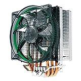 Vanpower Radiador del cojinete del Fluido de la Fan de Cooper de la CPU de 4 Heatpipes para AMD/Intel 775/115X