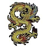 Hongma Aufnäher Patches von Drachen Stickerei für Damen Herren Kinder Applikation