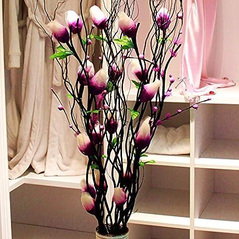THWS Frangipanier fleurs décoratives Décoration de table Accueil Mariage pétales