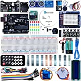 Elegoo UNO Project Super Starter Kit with Tutorial, 5V Relay, UNO R3, Power Supply Module, Servo Motor, Prototype Expansion Board, ect. for Arduino (Electronics)