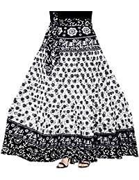 Silver Organisation Women's Cotton Skirt (SK_5183, Multicolor)