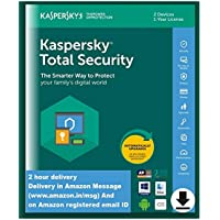 Kaspersky Total Security 2020 Latest Version - 2 Device, 1 Year (Single Key) (Email Delivery in 2 Hours - No CD)
