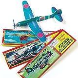 Gleitflugzeuge - zum Spielen für Kinder - als Preis und Mitgebsel für den Kindergeburtstag - 6 Stück