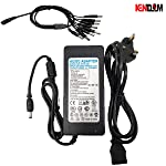 AC/DC 12V 5A Power Adapter 12Volt 5Amp 60W Adaptor Desktop Switch Supply For CCTV Camera And LED Strip with depatchable 1...