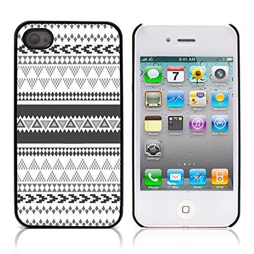Graphic4You COLORFUL TRIBAL Muster Harte Hülle Case Tasche Schutzhülle für APPLE IPHONE 4 und 4S Design #5