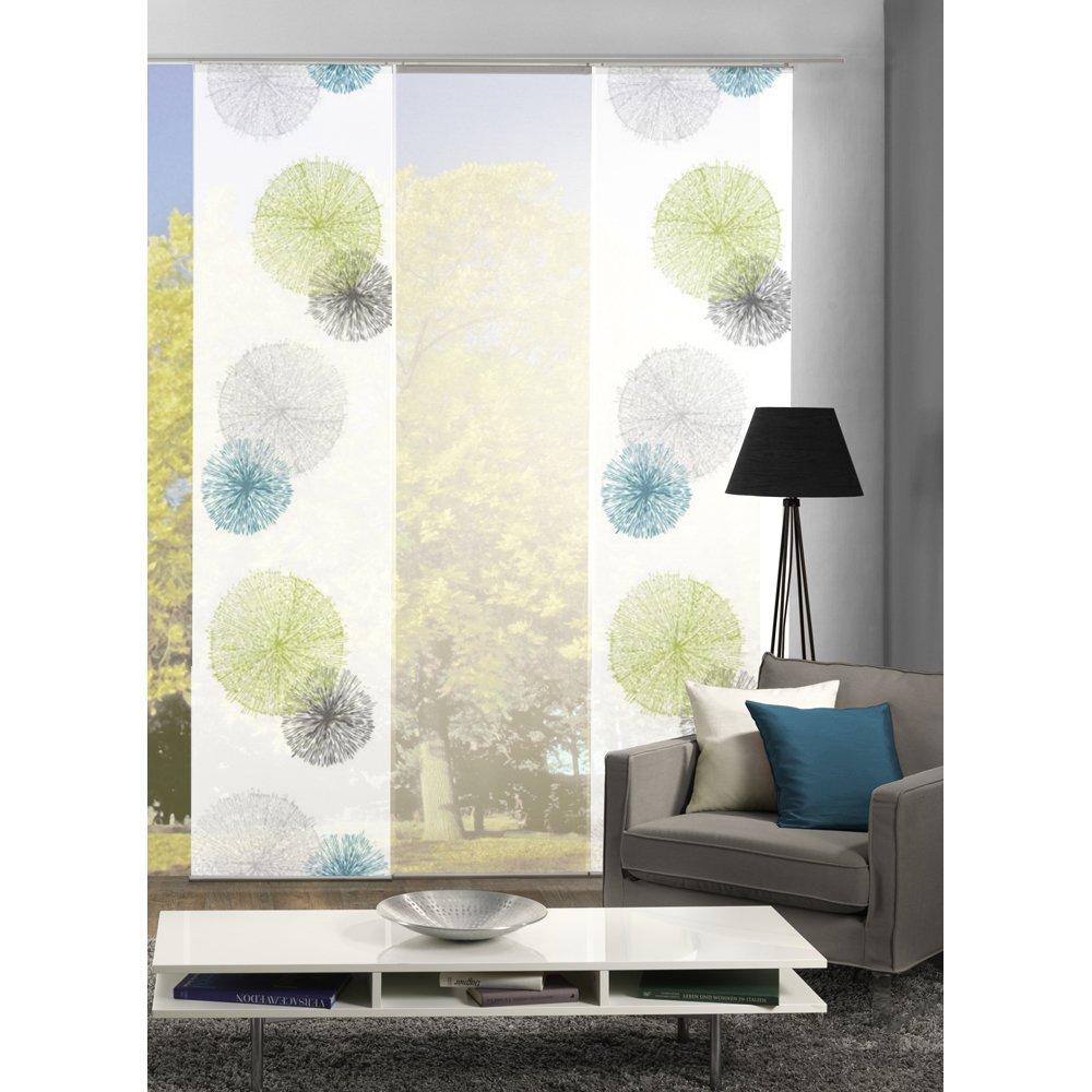 Schön HOME Wohnideen Komplett Fenster Schiebevorhang Scoppio, 3 Er Set, 245x60 Cm  Grün: Amazon.de: Küche U0026 Haushalt