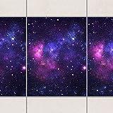 Fliesen Bordüre - Galaxie 20cm x 15cm, Setgröße:20teilig