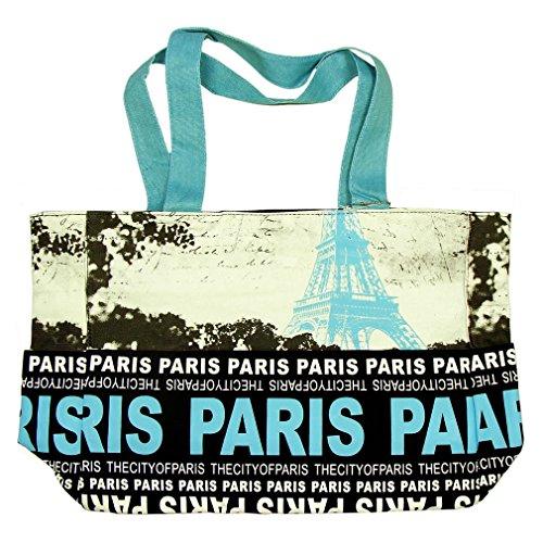 Sac Shopping Paris Robin Ruth 'Tour Eiffel' - Noir