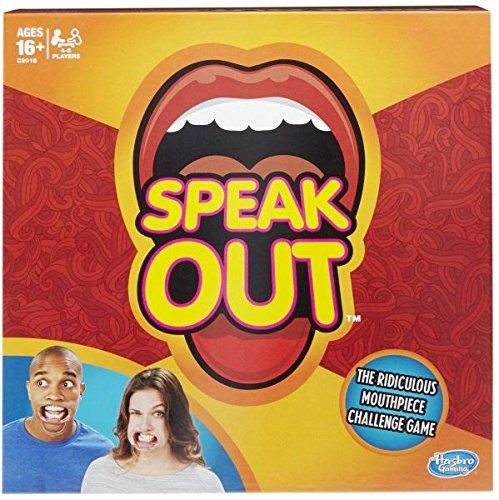 Hasbro Gaming Spiel - Speak Out - englisch