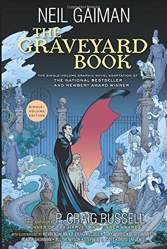 The Graveyard Book Graphic Novel Single Volume por Neil Gaiman