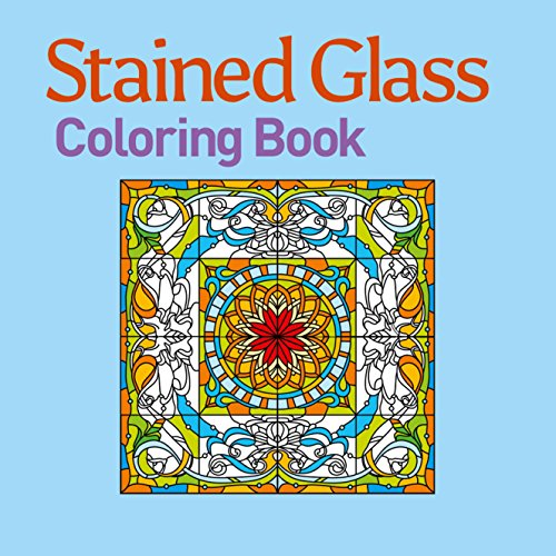 Stained Glass Coloring Book por Arcturus Publishing