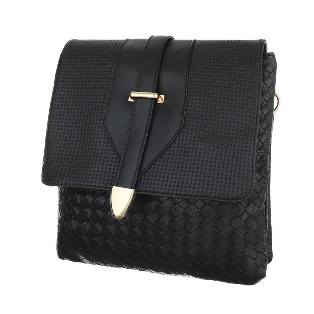 3d69dd28554a7 Ital-Design Damentasche Kleine Schultertasche Handtasche Tragetasche  Kunstleder TA-C251