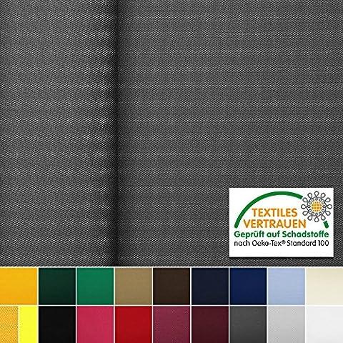Oeko-Tex® Gabardine - tissu très robuste en coton et polyester