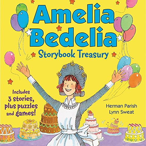 Amelia Bedelia Storybook Treasury #2 (Classic): Calling Doctor Amelia Bedelia; Amelia Bedelia and the Cat; Amelia Bedelia Bakes Off (Sweat Zwei Shorts)