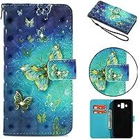 Everainy Samsung Galaxy J7 Duo Hülle Silikon PU Leder Flip Wallet Case Gummi Schutzhülle Kartenfach Magnet für... preisvergleich bei billige-tabletten.eu