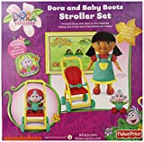 Fisher-Price Dora and Baby Boots Stroller Playset