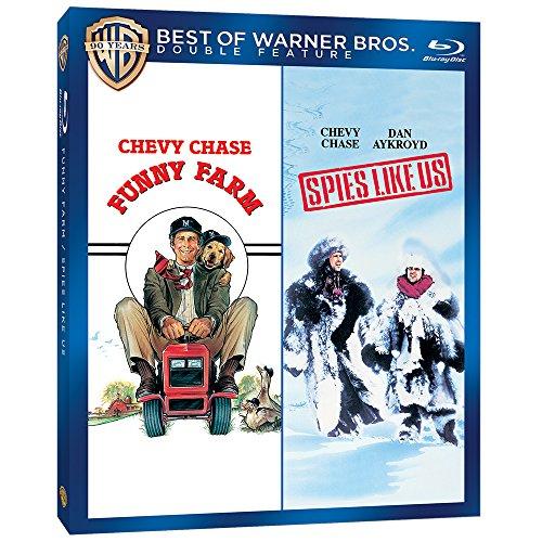 Funny Farm / Spies Like Us [Blu-ray] [PL Import]