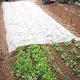 DOMDIL-19g/m² 3x4m Telo Protettivo Invernale per Piante, Cappuccio Protezione vegetale, Copertura Utile per Coltura, Velo Protezione Perfetta dal Gelo e Vento