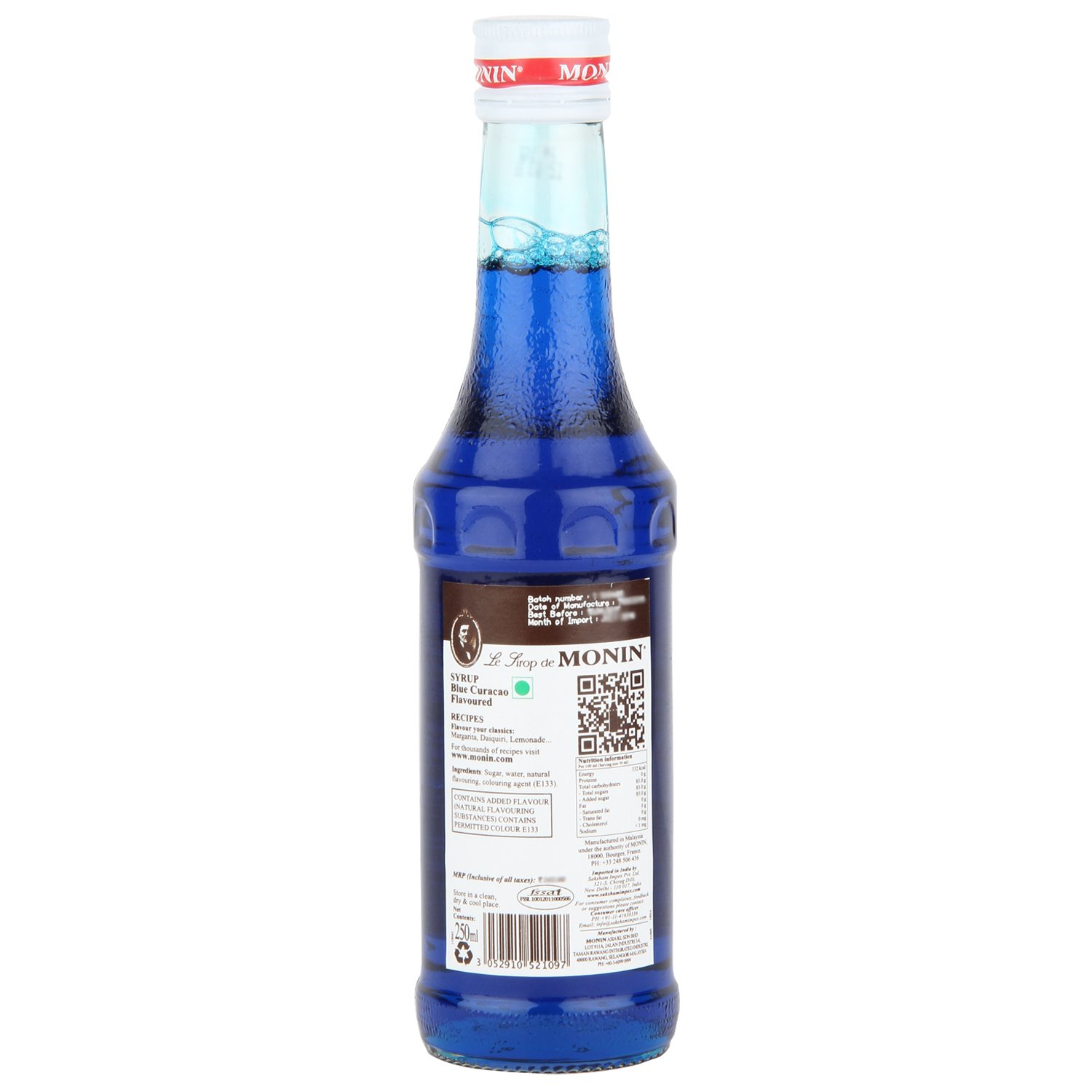 Monin Blue Curacao Syrup, 250ml: Amazon.in: Grocery & Gourmet Foods