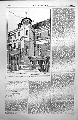 old-original-antique-victorian-print-house-avonmore-road-london-designed-as-artists-1898-266l175